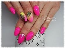 Hottie!  Nails by Monika, Studio Magnetic Nails Monika Sokołowska Kielce, SPN Instructor