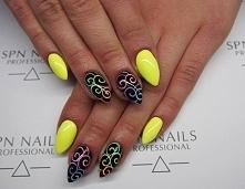 Jak wiosna, to musi być kolorowo   Nails by Monika, Studio Magnetic Nails Monika Sokołowska Kielce, SPN Instructor