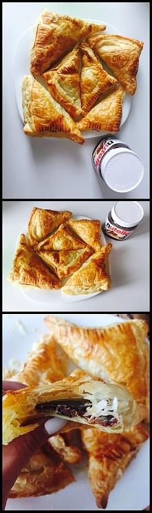Ciasto Francuskie z nutellą