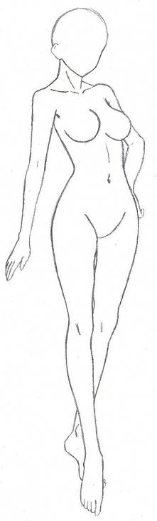 kobieca sylwetka