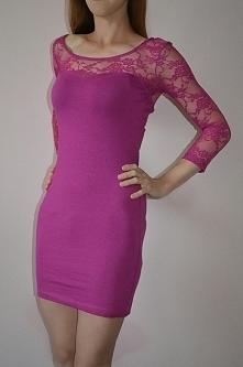 Nowa różowa tunika - sukienka firmy H&M, nowa z metką, rozmiar 34..... podoba ci sie kliknij w zdjecie :)