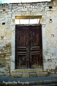 Stare drzwi w Limassol/Cypr