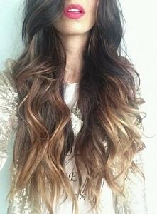 Te włosy!