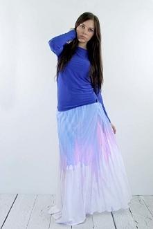 Ręcznie malowana spódnica od Kalos Kagathos