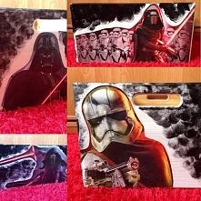 Pudło na zabawki dla fana Star Wars