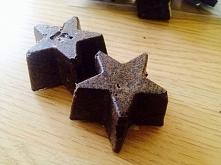 Moj peeling kawowy zamkniety w gwiazdkach :)