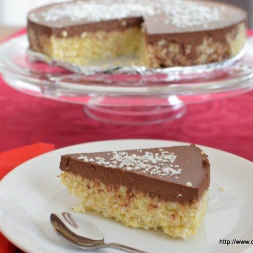 Ciasto bounty bez pieczenia