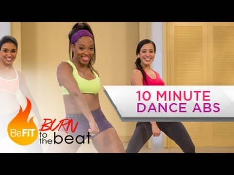10 Minute Cardio Dance Abs Workout: Burn to the Beat- Keaira LaShae co sądzicie? polecacie ?