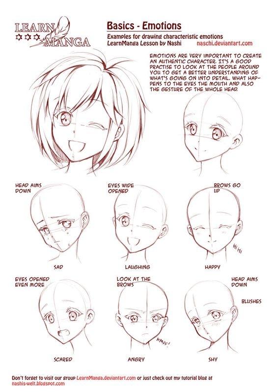 jak narysowac emocje