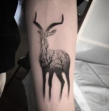 Tatuaż Leśny