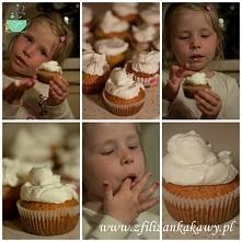 Cytrynowe muffinki z pysznym kremem- link po kliknięciu w zdjęcie