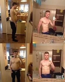 5 miesięcy -17 kg