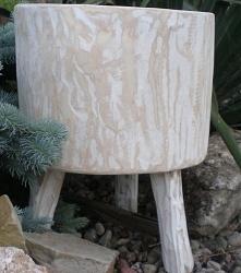 stołek pieniek drewniany
