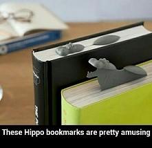 """Hipopotamy jako zakładki do książki (ps.zapraszam na YouTube """"kerwetka&q..."""