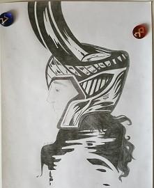 Loki Laufeyson <3 Rysunek autorski :)