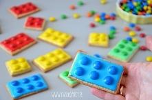 Ciasteczka Lego na Dzień Dziecka - przepis po kliknięciu na zdjęcie :)