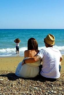 Rodzinne wakacje nad morzem.