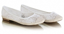 Ślubne baleriny awaryjne!  pantofelek24, 49,90 pln  Więcej na blogu Madame Allure :)