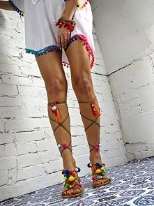 sandałki POMPONY dostępne ponownie w sklepie online ELIKSHOE