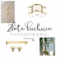 Gdzie kupić złote dodatki do kuchni - zobacz na homelikeilike.com