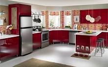 Czerwień w kuchni - czerwon...