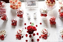 Strawberries & Roses Candy Bar
