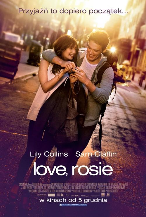 Love, Rosie (2014) Rosie Dunne wraz ze swoim najlepszym przyjacielem Alexem planuje naukę w jednym z uniwersytetów USA. Wszystko przewraca się do góry nogami, kiedy po szalonej nocy z najpopularniejszym chłopakiem w szkole Rosie odkrywa, że jest w ciąży. Mimo wszystko, namawia Alexa do wyjazdu, a sama przygotowuje się do macierzyństwa. Czy odległość i czas coś zmienią w ich przyjaźni ? Jak potoczą się losy tych dwojga? (link do filmu w komentarzu)