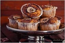 muffinki bananowe z nutellą