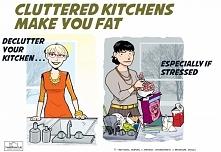 CIEKAWOSTKA: Zabałaganiona kuchnia nie sprzyja diecie
