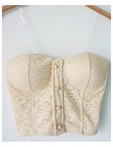 sprzedam bralet (kolor biały) 50 zł + wysyłka  ubrany 2/3 raazy. Stan idealny...