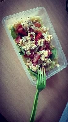 obiad na uczelnie gotowy :)