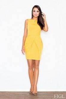 Żółta sukienka idealna na w...