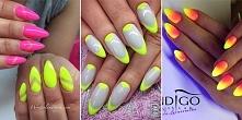 16 propozycji na letni neonowy manicure