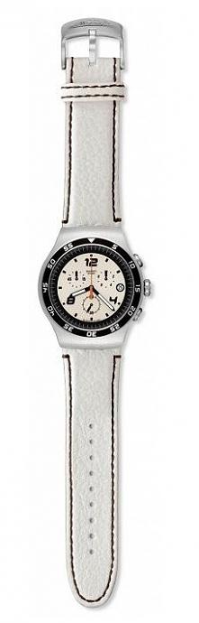 Zegarek męski biały Swatch Irony Big YOS438 Możliwość zakupu, link w  komentarzu :)