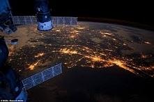 Nowy Jork widziany z kosmosu.