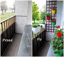 Zobacz jak łatwo odmienić wąski balkon! więcej znajdziecie na blogu. Kliknij w zdjęcie!