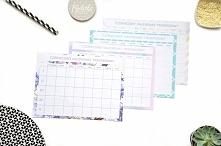 Czerwcowy kalendarz treningowy do druku w 4 wersjach kolorystycznych. Kliknij w zdjęcie i ściągaj :).