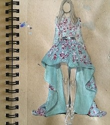 Beautiful Dress Drawings by...