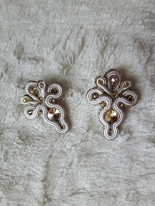 Więcej biżuterii rękodzieła na www. facebook. com/MSsoutache/ - bez spacji, pozdrawiam,  Marta Skrodzka soutache