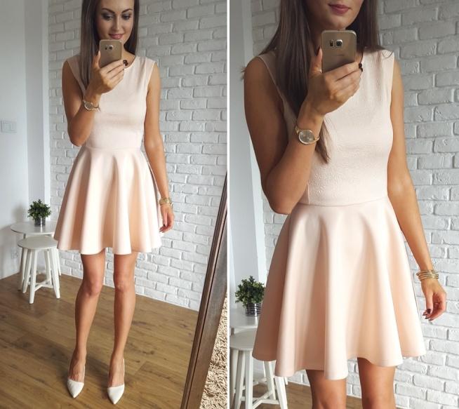 sukienka z koła z piankowej tkaniny SALE% wysoka jakość Illuminate