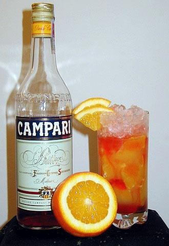 Pyszny drink Campari orange, polecam na dzisiejszy wieczór :)  Po przepis klikamy w fotkę :)