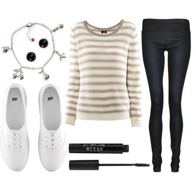 Ładny outfit :) Modny i wygodny ;)