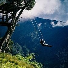 Ecuador at Luna Runtun, Banos.