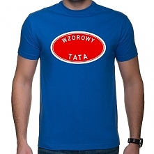 Koszulka Wzorowy tata - pre...