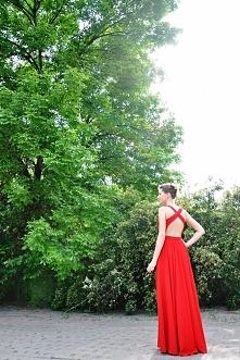 Więcej zdjęć po kliknięciu w obrazek. Własnoręcznie uszyta sukienka :)