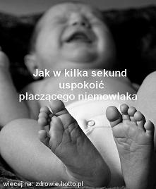 Super prosty sposób - lekarz radzi jak w chwilę uspokoić płaczące dziecko i poczuć ulgę :)
