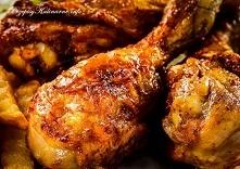 Mocno chrupiące pałki z kurczaka