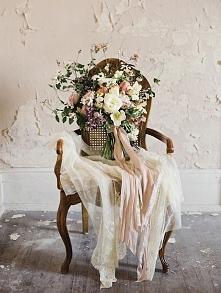 Bukiet ślubny w stylu vintage