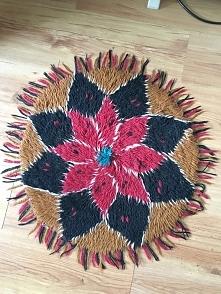 dywanik recznie robiony