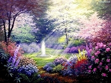 Piękny ogród, nieprawdaż? :)